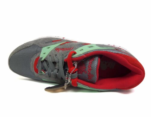 Homme Reebok Sole trainer formation Chaussures Gris//Menthe//rouge M47879 a1