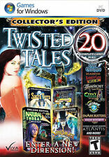 Twisted Tales: Collector's Edition 20 Complete Games - NEW - FREE SHIPPING
