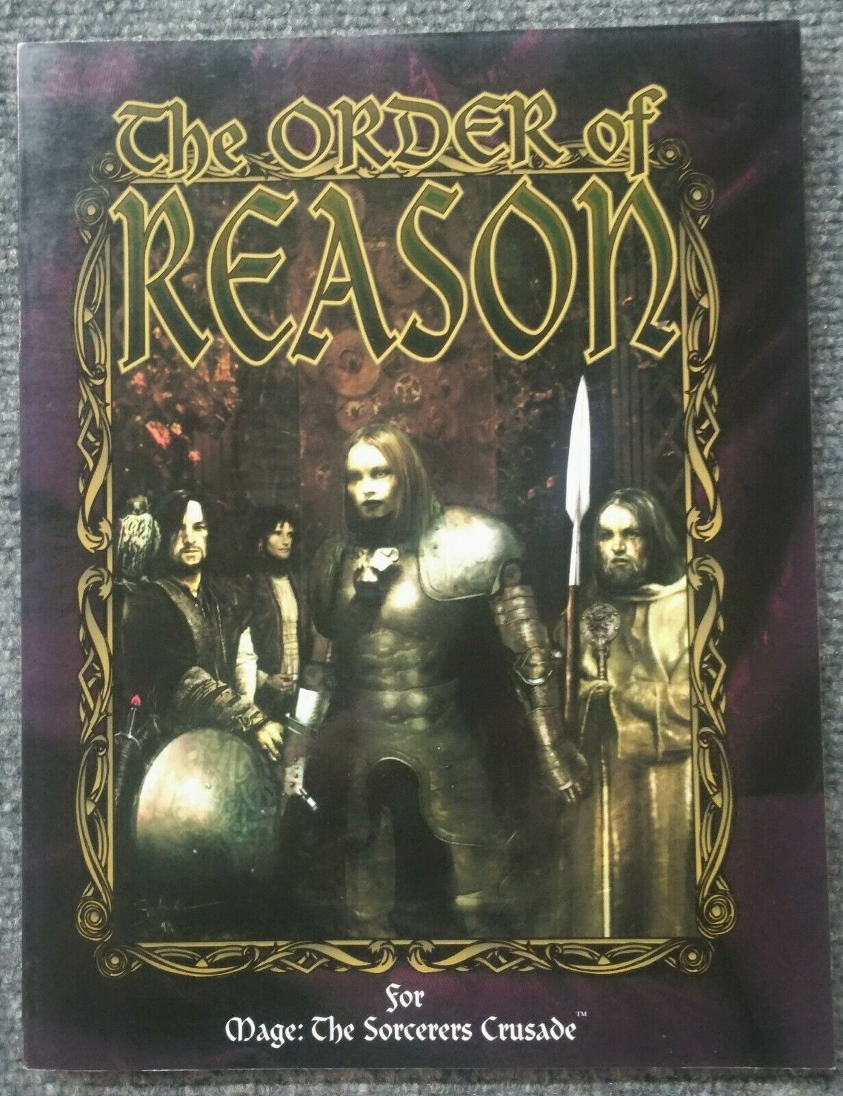 Mage  The Sorcerers Crusade RPG  The Order of Reason SC White Wolf  WW4807