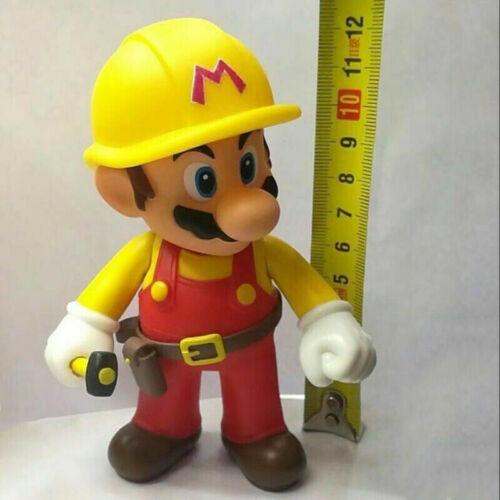 Super Mario Bros Luigi Mario Yoshi Wario Bowser Action Figure Birthday Gift Toy