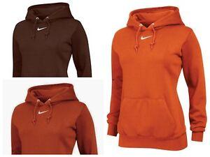 1758e2757bfe Nike Women s Team Club Fleece Hoody Hoodie Sweatshirt Jacket 598575 ...
