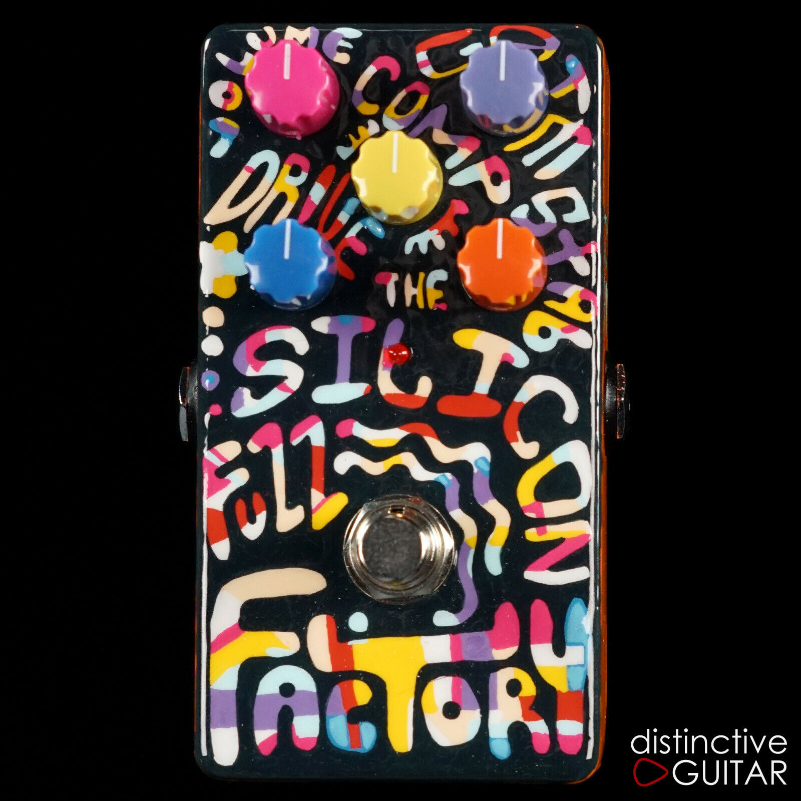 NEW ZVEX EFFECTS VERTICAL SILICON FUZZ FACTORY CUSTOM ONE OFF NAMM GUITAR PEDAL