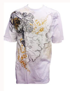 Konflic-Archangel-World-Atlas-MMA-Muscle-Heavy-Weight-T-shirt