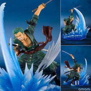 Nouveau 17 cm One Piece combats Roronoa Zoro PVC Anime Figure Collection Toy NO Box