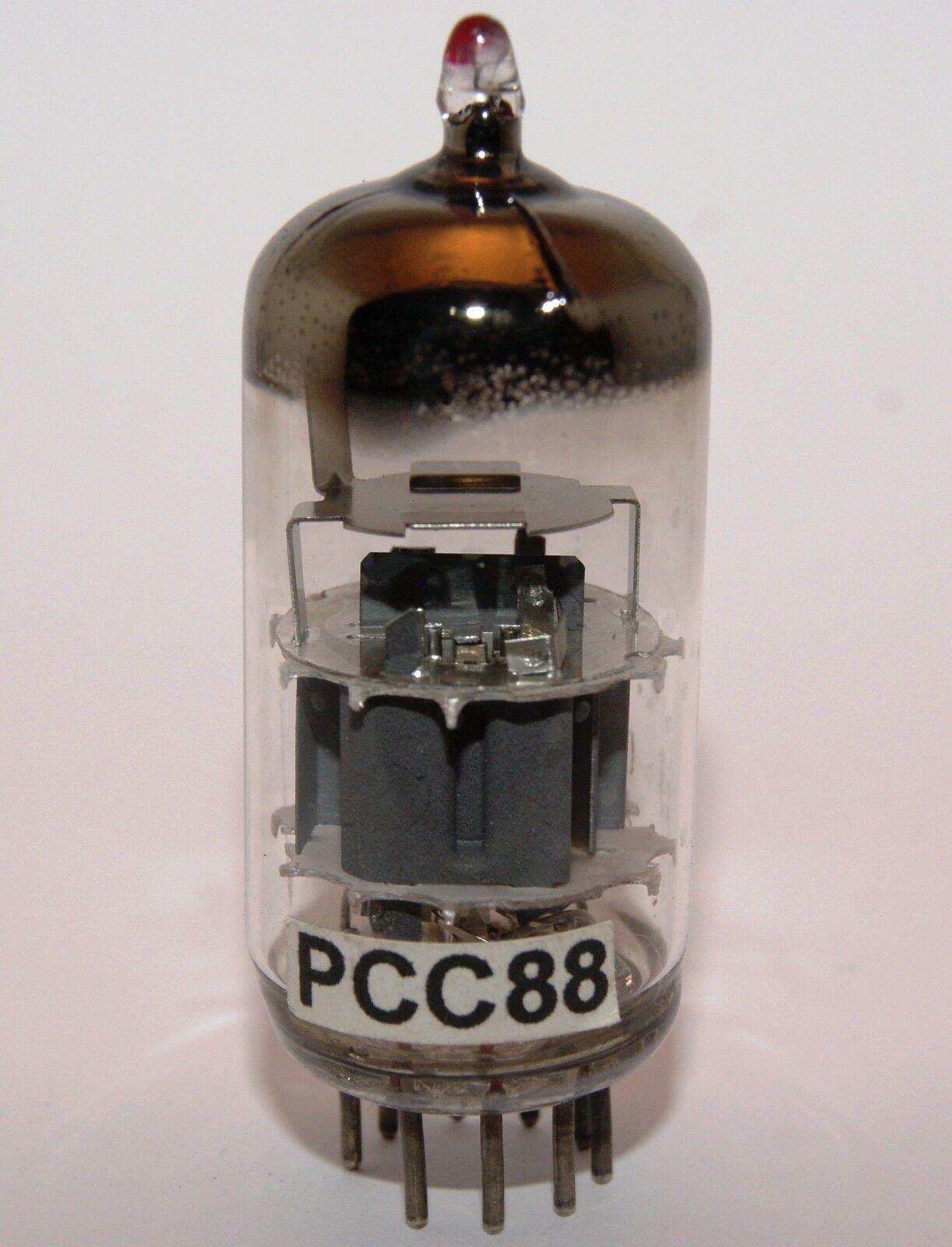 PHILIPS PCC88 ( 7DJ8 6DJ8 ECC88 ) D-GETTER ∆ TSF Valvola, Röhre, Valvula