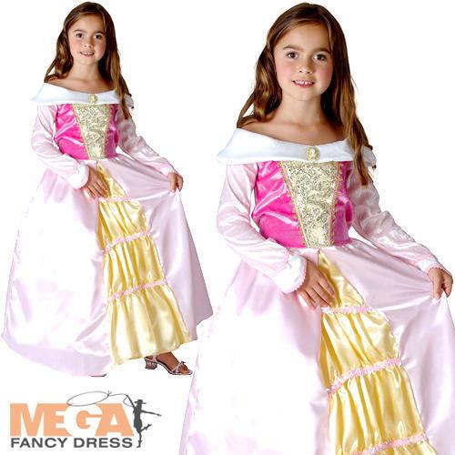Dormire Principessa Ragazze Costume Favola Libro Giorno Costume Per Bambini