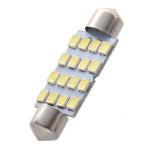 8-x-41mm-16-3528-SMD-LED-Bulbs-White-Car-Dome-Festoon-Interior-Light-L5I9