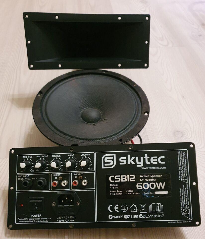 Guitarforstærker, Skytech CSB12, 600 W