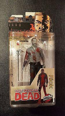 The Walking Dead Rick Grimes 2016 Action Figure Bloody b/&w