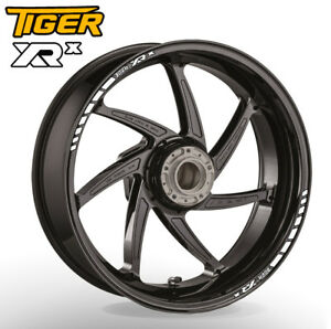 Triumph Tigher XR x wheel rim stickers decals - 20 colours - explorer 800 1200