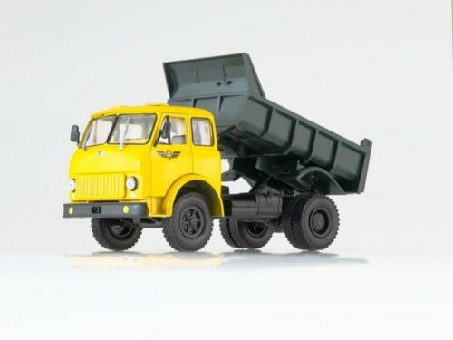 yellow 1970 Scale truck 1:43 MAZ-503A
