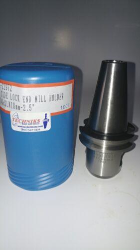 "Techniks CAT40xSLN 18mm-2.5/"" CAT40 Metric End Mill Holder SYIC-22972"