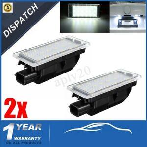 2-x-licenza-18-Numero-LED-luce-targa-per-Renault-Clio-Laguna-Megane-8200480127