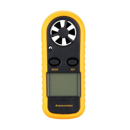 Portable LCD Digital Anemometer Wind Speed Meter Air Temperature Measuring