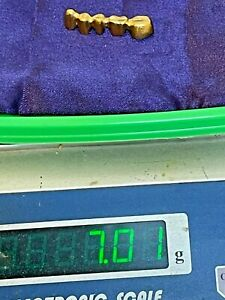 Lot Of 7.01 Grams Scrap   Dental Not Tested I Sell It As Is