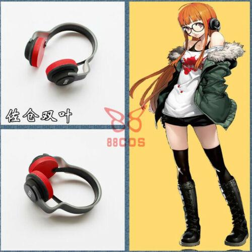 Persona5 Futaba Sakura Headset Earphone Cosplay Prop Halloween Anime Accessories