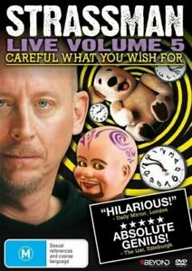 DVD - Strassman: Live Volume 5 - Careful What You Wish For - FREE POST #P1