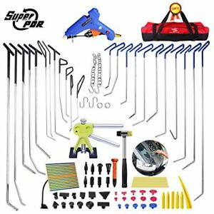 Paintless Dent Repair Tools PDR Rods Hail Removal Auto Body Ding Dent Repair Rod