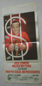 Filmplakat,Plakat,NON PER SOLDI.. MA PER DENARO,JACK LEMMON,WALTER MATTHAU # 99