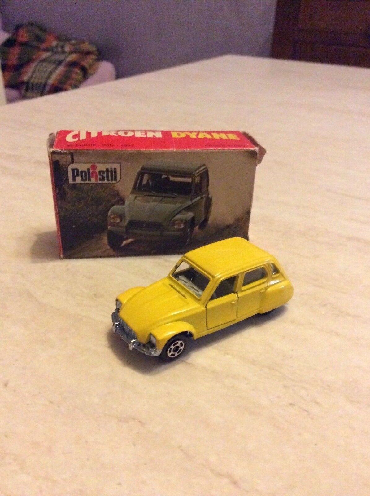 Rarissima citroen dyane rj 41 polistil anni 70 1 66 nuova in box da collezione