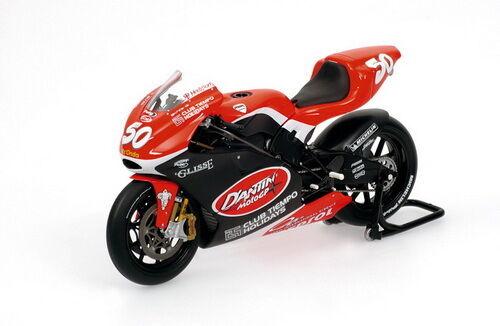 1 12 Minichamps Ducati Desmosedici Neil Hodgson 2004 D'antin Team RARE NEW