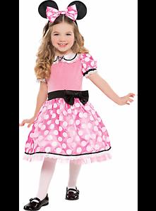 Child-039-s-Disney-Deluxe-Minnie-Mouse-Costume-Small-4-6-NIP-E5