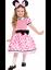 Child-039-s-Disney-Deluxe-Minnie-Mouse-Costume-Small-4-6-NIP-E5 thumbnail 1