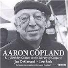 Jan DeGaetani - Aaron Copland (81st Birthday Concert/Live Recording, 1993)