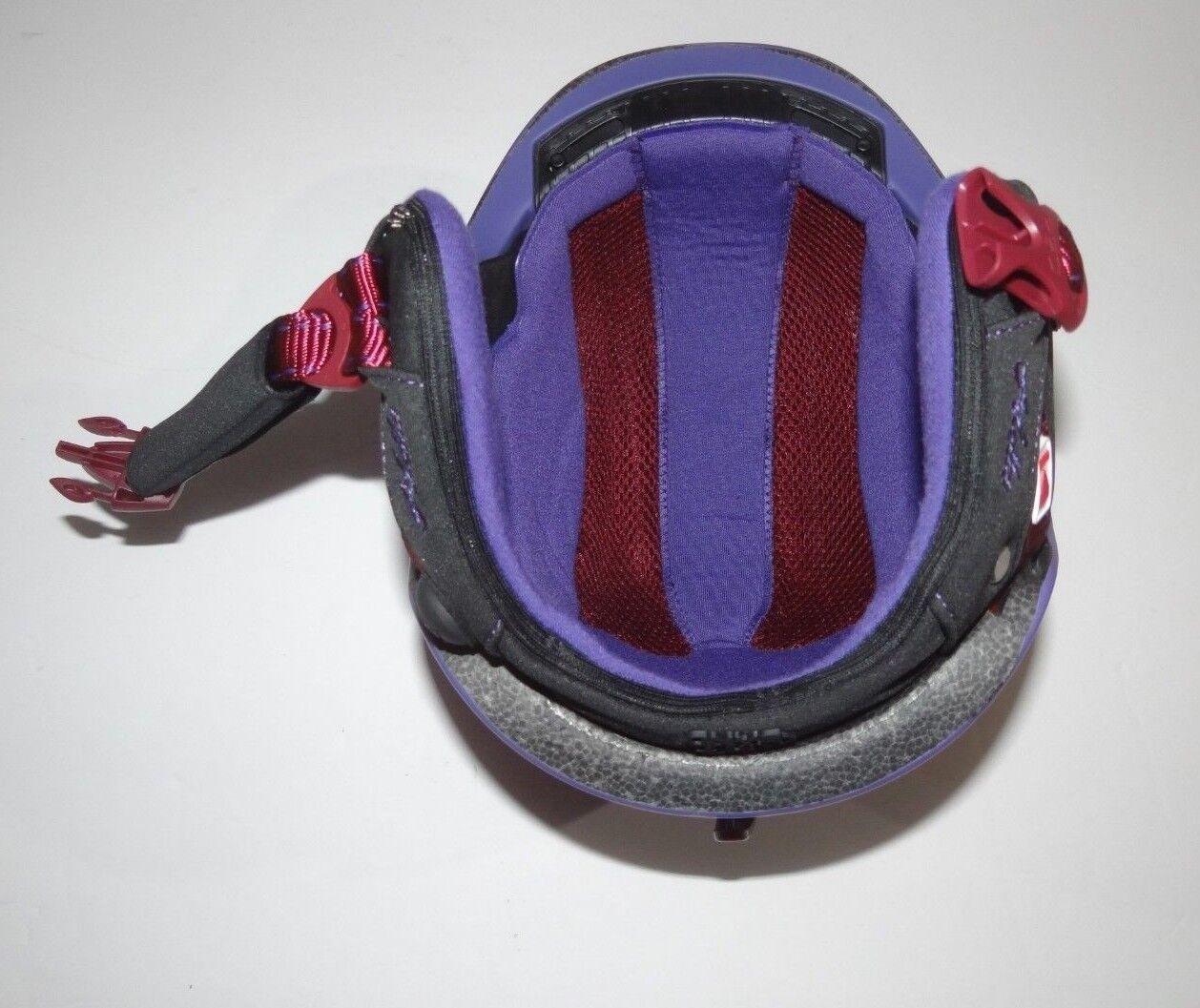 Nuevo    rojo  por Burton Demo Aletta Casco Snowboard 53-55 Cm 7e9ad2