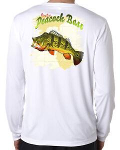 Herrenmode Dixie Land Outdoors Microfiber long sleeve bass fishing t shirt 50 T-Shirts uv musky