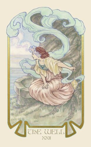 Includes booklet Illuminated Tarot Deck Detailed images Ethereal Visions