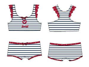 STEIFF® Mädchen Beachwear Bikini Badeanzug Marine Gr. 98-122 S 2021 NEU!