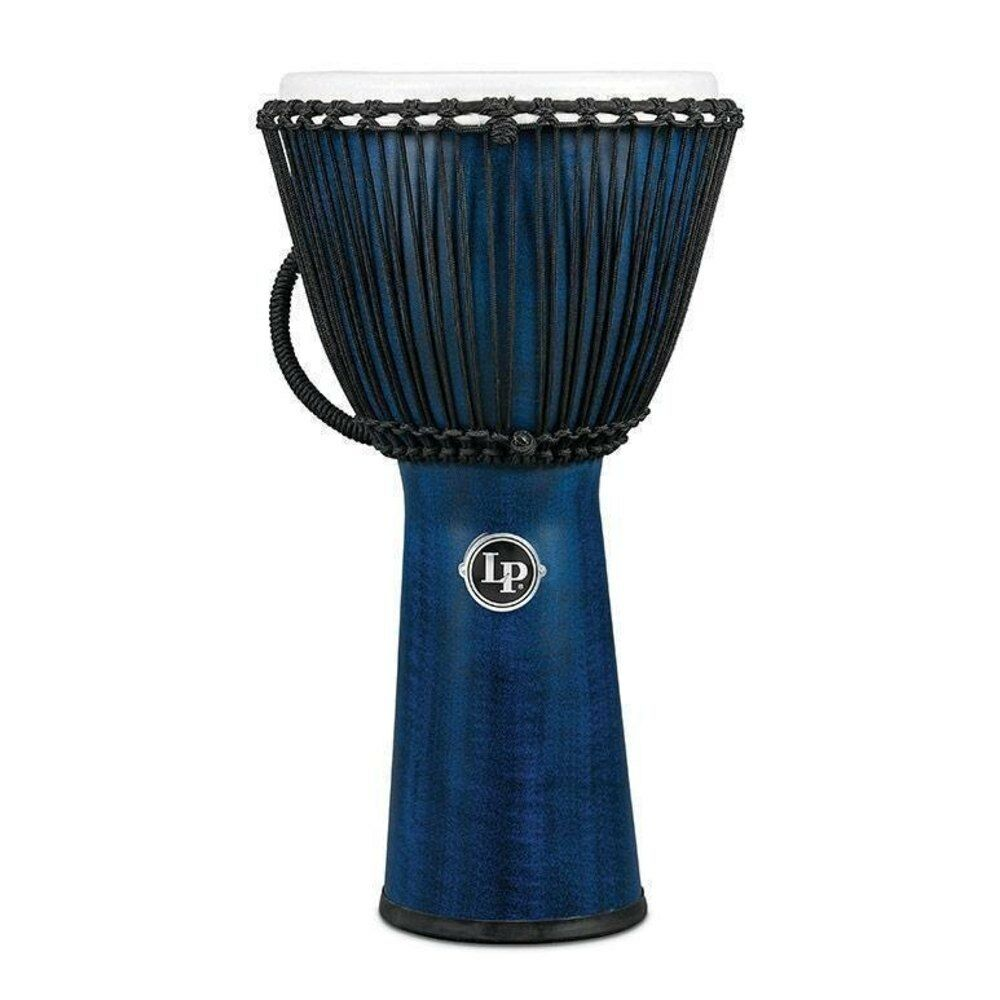 LP Latin Percussion LP725B Djembe 12 1 2'' - FX Rope Blau Synthetic