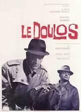 DOULOS: THE FINGER MAN Movie POSTER 27x40 Jean-Paul Belmondo Serge Reggiani Jean