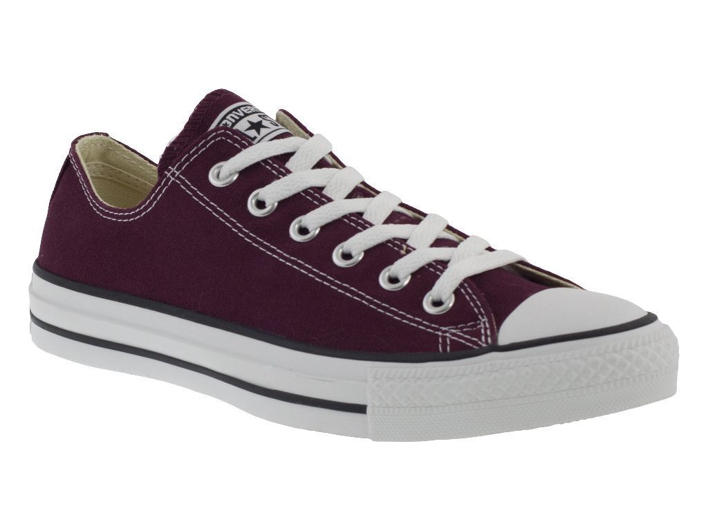CONVERSE ALL STAR OX hombre BORDEAUX Zapatos BASSE hombre OX mujer 8966b8