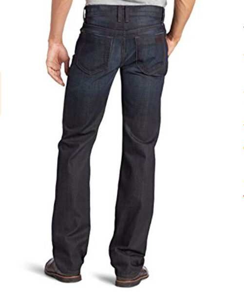 JOE'S JEANS NWT Mens 36 33 The Classic Straight Leg DISTRESSED Dark FIELDS Wash