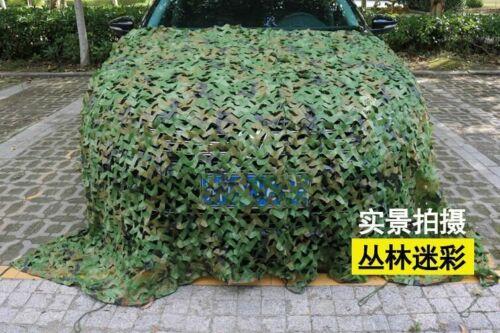 2x3m 2x4m 2x5m 3x3m 3x5m Hunting Military Camouflage Nets Camping Sun Shelter