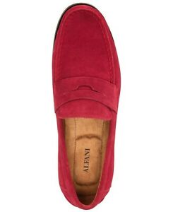 Alfani Mens Size 7M Sawyer Slip-On Penny Loafers Suede ...