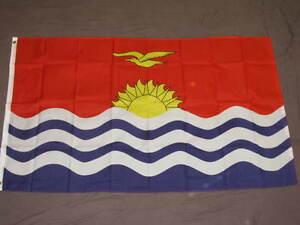 REPUBLIC-OF-KIRIBATI-FLAG-3X5-GILBERT-ISLANDS-NEW-F861