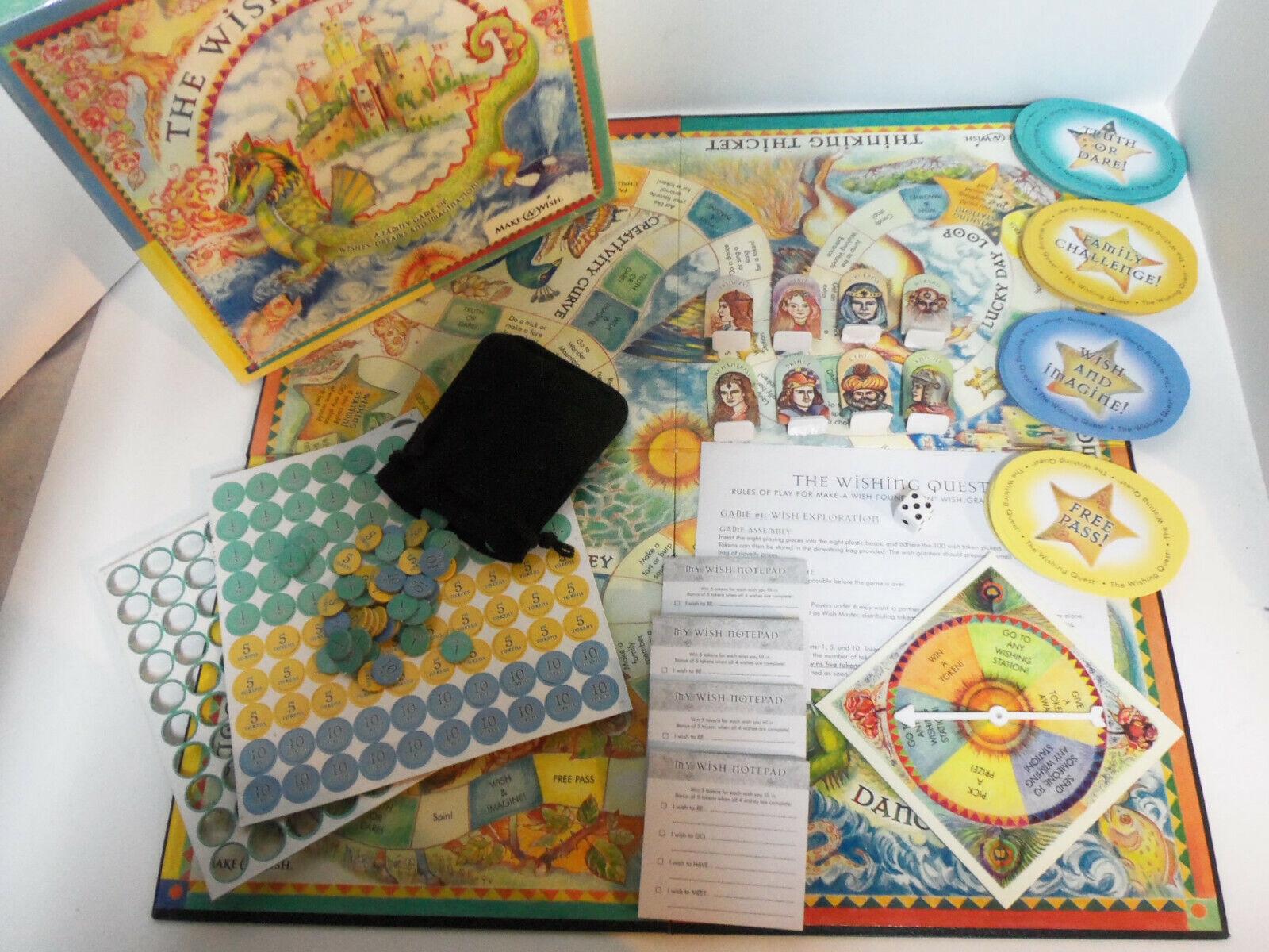 RARE 2004 The  Wishing Quest tavola gioco from rendere A Wish Foundation Utah completare  molto popolare