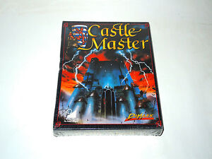 CASTLE-MASTER-by-Domark-new-factory-sealed-big-box-PC-game-rare