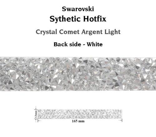 Genuine SWAROVSKI 72036 Crystal Rocks Bandings Synthetic Hotfix 1 piece 165x13mm