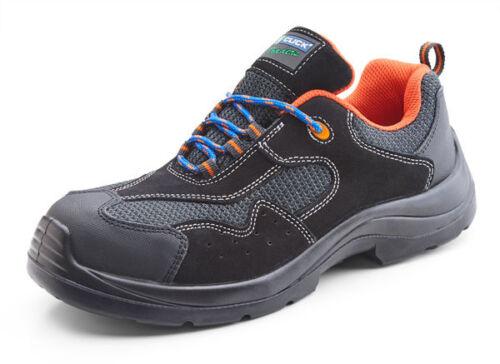 Haga clic en los comerciantes no metálica Zapatilla Zapato puntera de seguridad de trabajo libre de Metal Suela