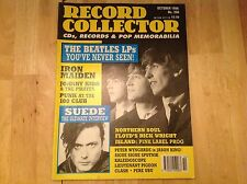 Record Collector Magazine- Beatles LP'S Iron Maiden Punk 100 Club - Oct 1996 206