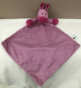 Jellycat-Pink-Stripe-Skiddle-Pony-Baby-Soother-Soft-Toy-Comforter-Blanket-Zebra