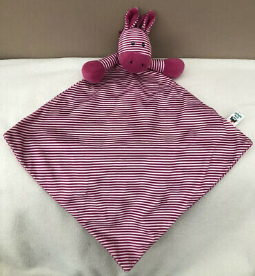 Jellycat Pink Stripe Skiddle Pony Baby Soother Soft Toy