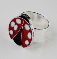 Ladybug Ring - Accessories - Rings - Women's Jewelry - Gift Box