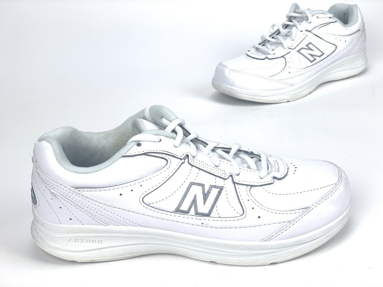New Balance WW577WT Women's Size 9.5 D White Walking Sneaker shoes DSL-2