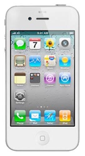 1 of 1 - APPLE iPHONE 4S 16GB FACTORY UNLOCKED WHITE SMARTPHONE SB