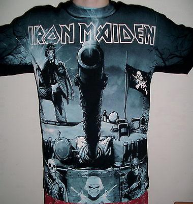 Iron Maiden A Matter Of Life And Death T-Shirt Size 2XL XXL AllOverPrint new!